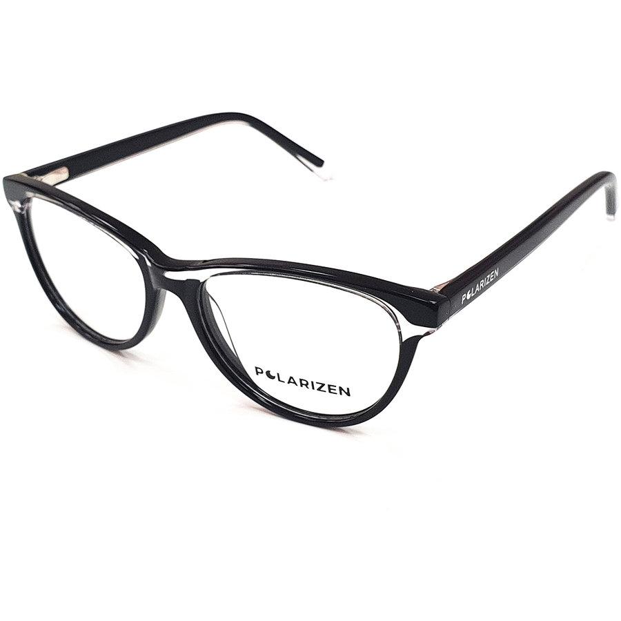 Rame ochelari de vedere dama Polarizen WD4018 C1 Ochi de pisica originale cu comanda online