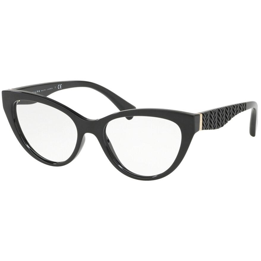 Rame ochelari de vedere dama Ralph by Ralph Lauren RA7106 5001 Ochi de pisica originale cu comanda online