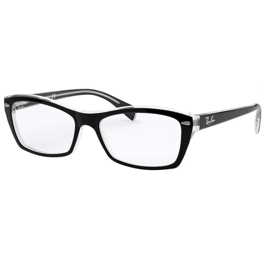 Rame ochelari de vedere dama Ray-Ban RX5255 2034 Fluture originale cu comanda online