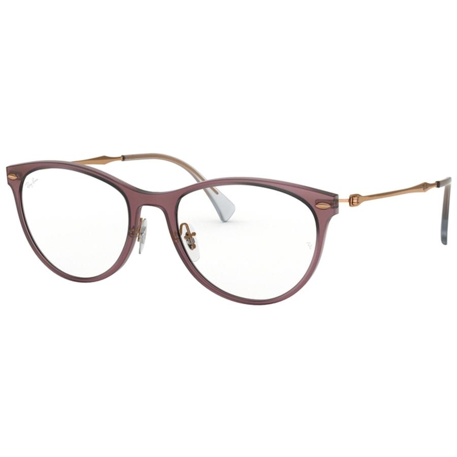 Rame ochelari de vedere dama Ray-Ban RX7160 5868 Fluture originale cu comanda online