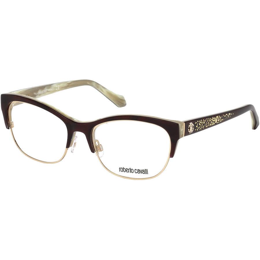 Rame ochelari de vedere dama Roberto Cavalli RC5023 056 Browline originale cu comanda online