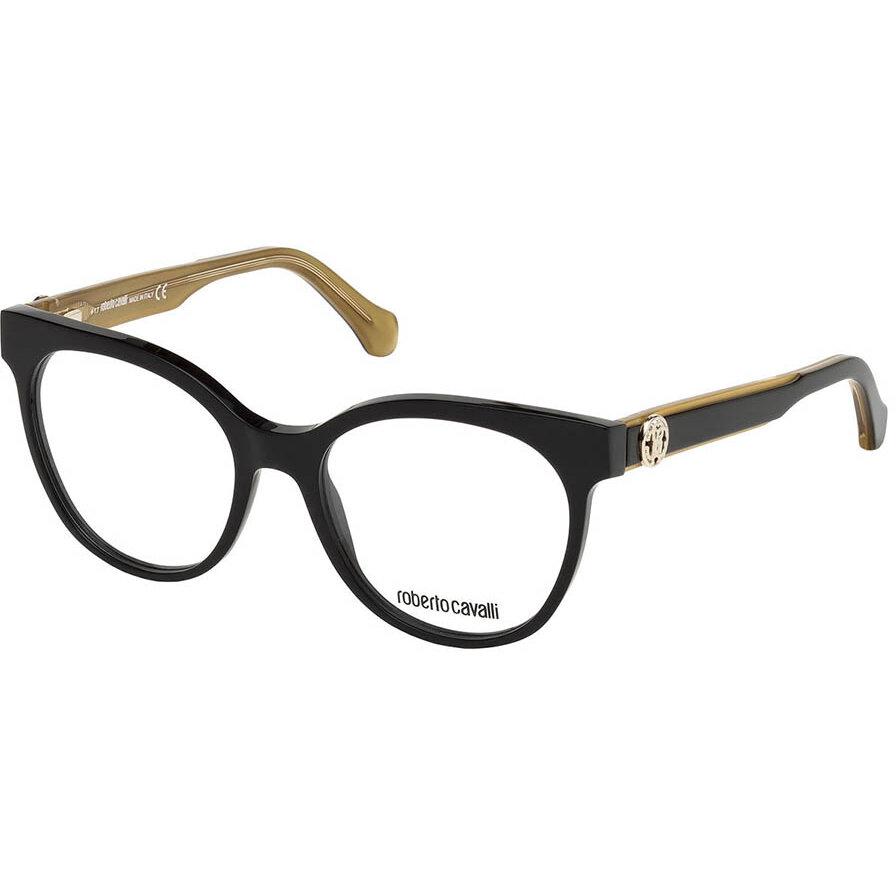 Rame ochelari de vedere dama Roberto Cavalli RC5049 005 Ochi de pisica originale cu comanda online