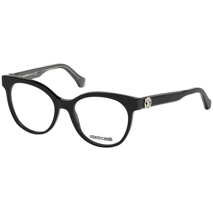 Rame ochelari de vedere dama Roberto Cavalli RC5049 A05 Ochi de pisica originale cu comanda online
