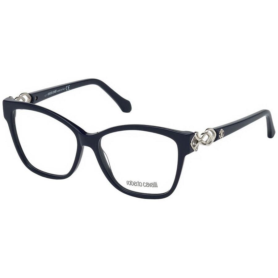 Rame ochelari de vedere dama Roberto Cavalli RC5063 090 Ochi de pisica originale cu comanda online