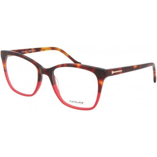 Rame ochelari de vedere dama SOVER SO5130-54-DM-RED Ochi de pisica originale cu comanda online
