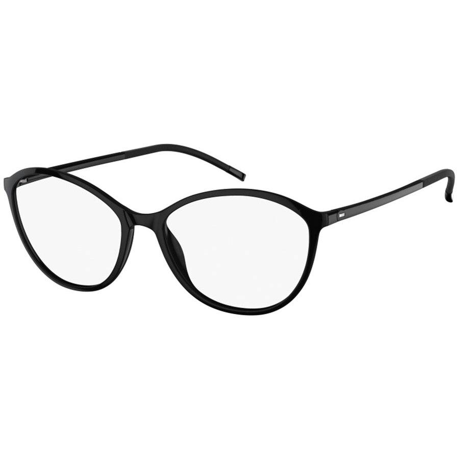 Rame ochelari de vedere dama Silhouette 1584/75 9110 Ovale originale cu comanda online