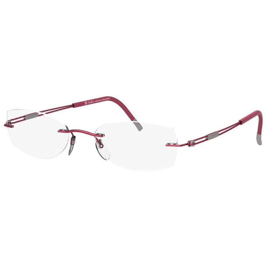 Rame ochelari de vedere dama Silhouette 4301/40 6059 Ovale originale cu comanda online