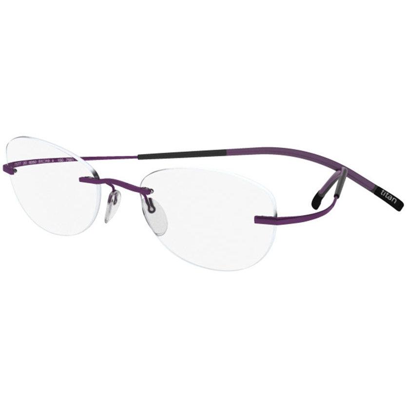 Rame ochelari de vedere dama Silhouette 4421/40 6071 Ovale originale cu comanda online