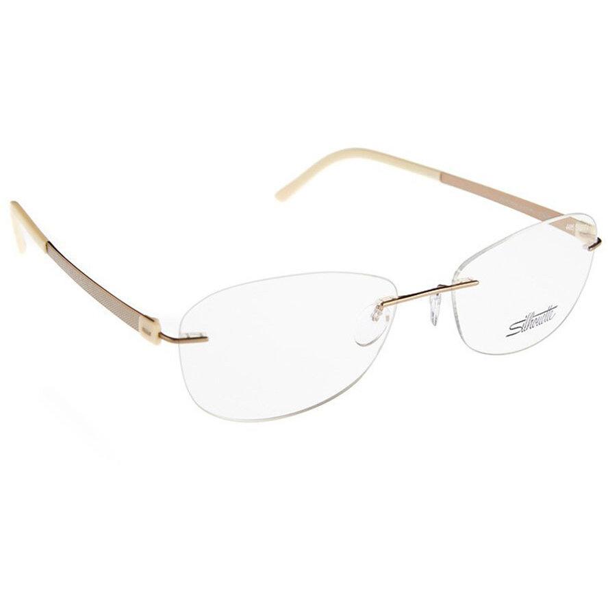 Rame ochelari de vedere dama Silhouette 4495/40 6053 Ovale originale cu comanda online