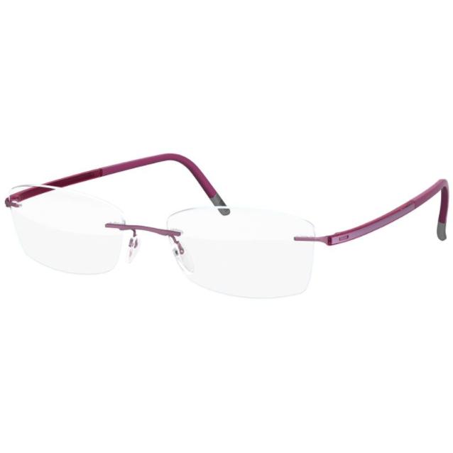 Rame ochelari de vedere dama Silhouette 4525/40 6058 Rectangulare originale cu comanda online
