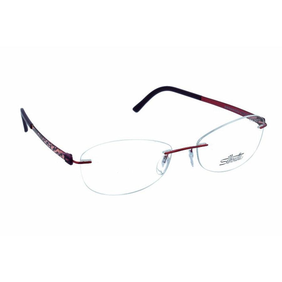 Rame ochelari de vedere dama Silhouette 4544/40 6062 Ovale originale cu comanda online