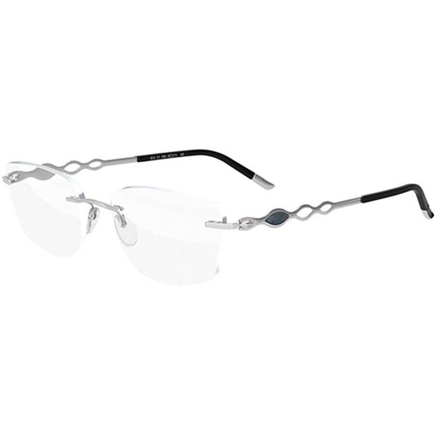 Rame ochelari de vedere dama Silhouette 5512/CY 7000 Rectangulare originale cu comanda online