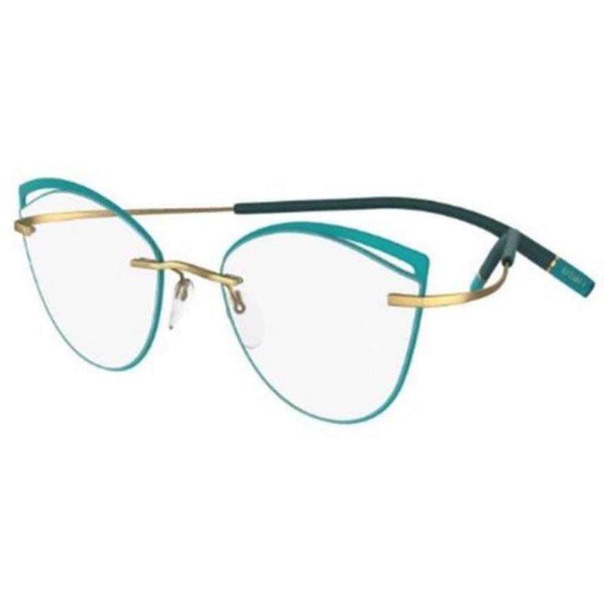 Rame ochelari de vedere dama Silhouette 5518/FU 5540 Ochi de pisica originale cu comanda online