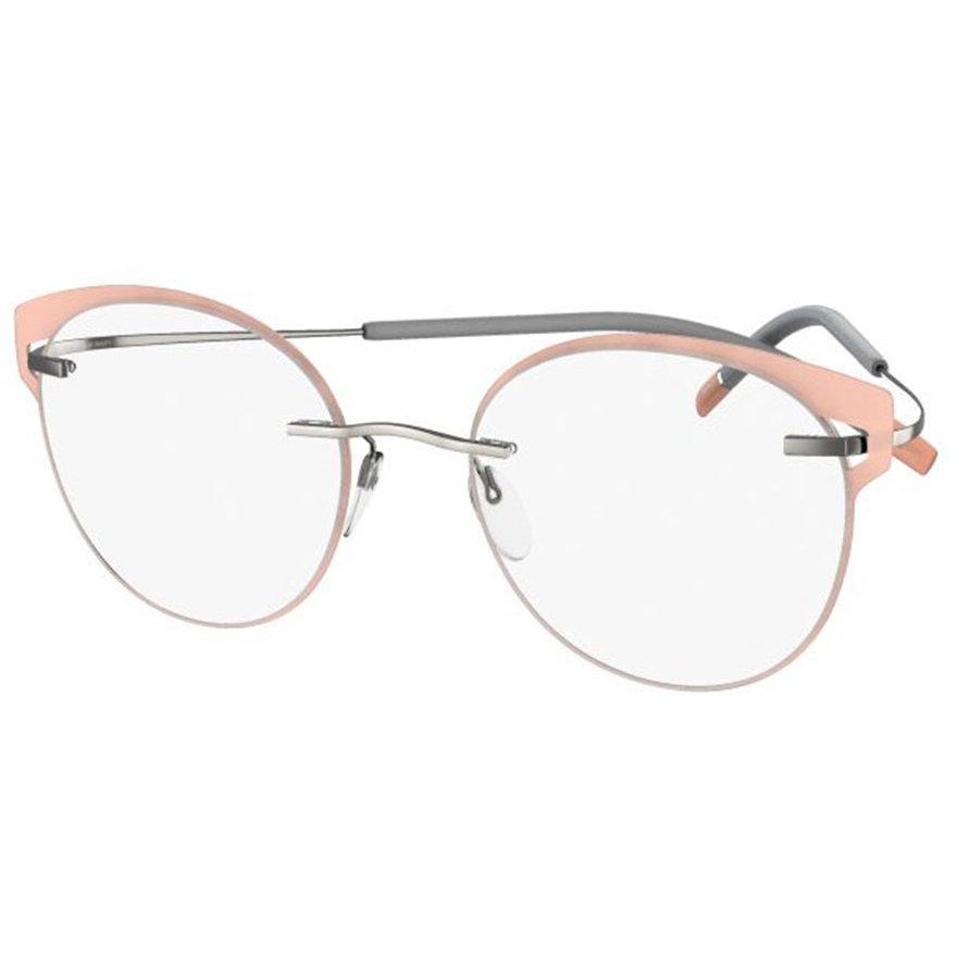 Rame ochelari de vedere dama Silhouette 5518/FV 7010 Rotunde originale cu comanda online