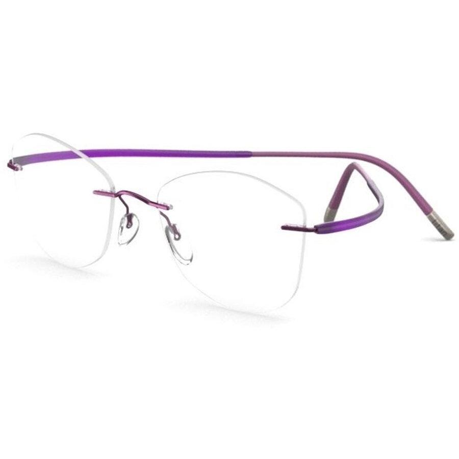 Rame ochelari de vedere dama Silhouette 5523/CH 4140 Ochi de pisica originale cu comanda online