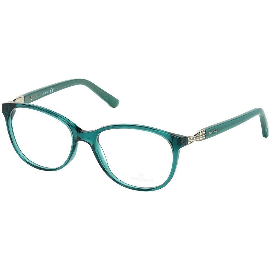 Rame ochelari de vedere dama Swarovski SK5122 096 Ovale originale cu comanda online