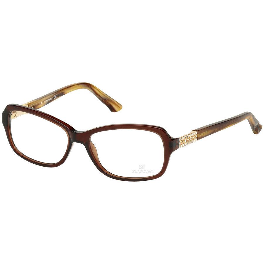 Rame ochelari de vedere dama Swarovski SK5154 045 Rectangulare originale cu comanda online