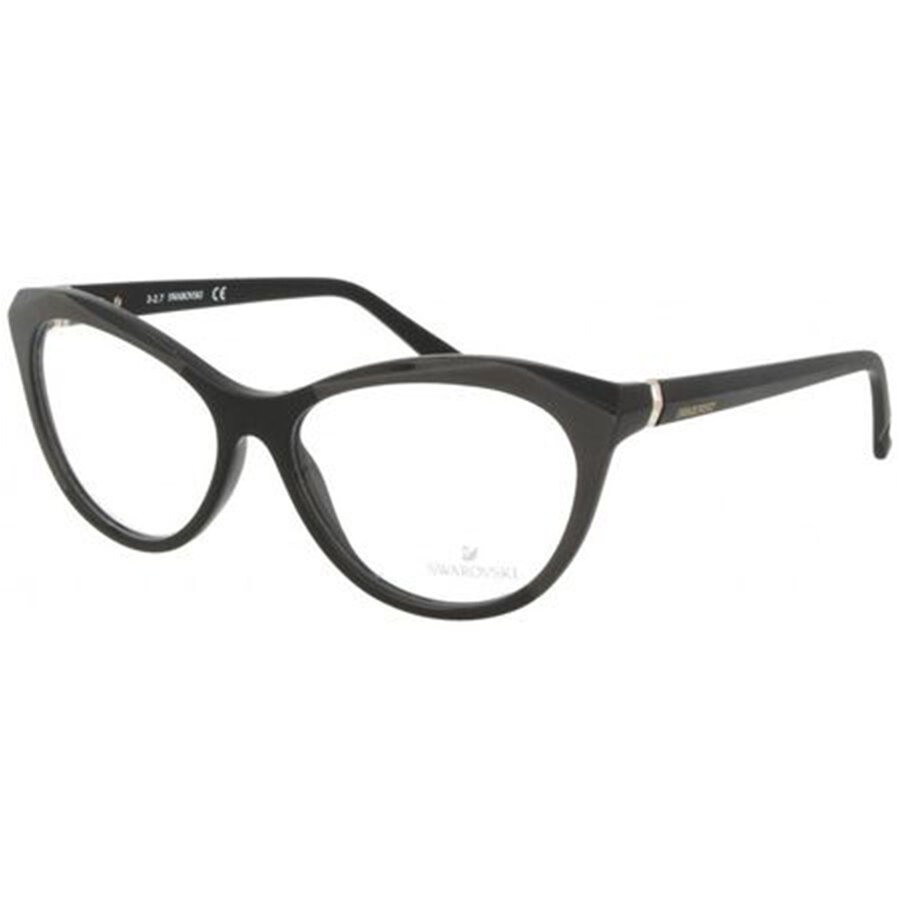 Rame ochelari de vedere dama Swarovski SK5192-F 001 Ochi de pisica originale cu comanda online