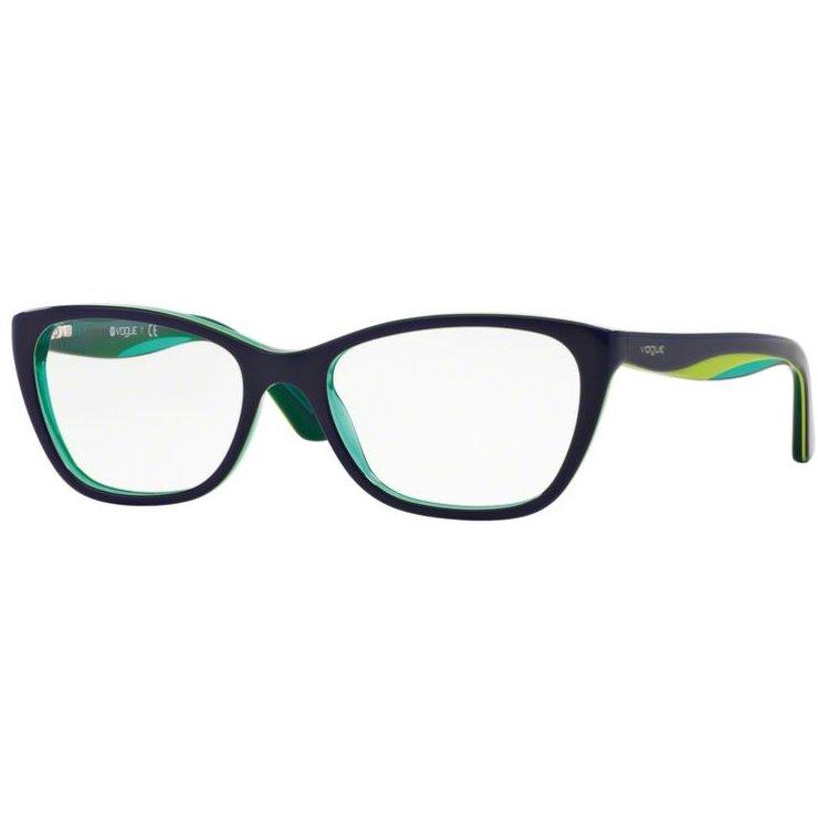 Rame ochelari de vedere dama Vogue VO2961 2311 Ochi de pisica originale cu comanda online
