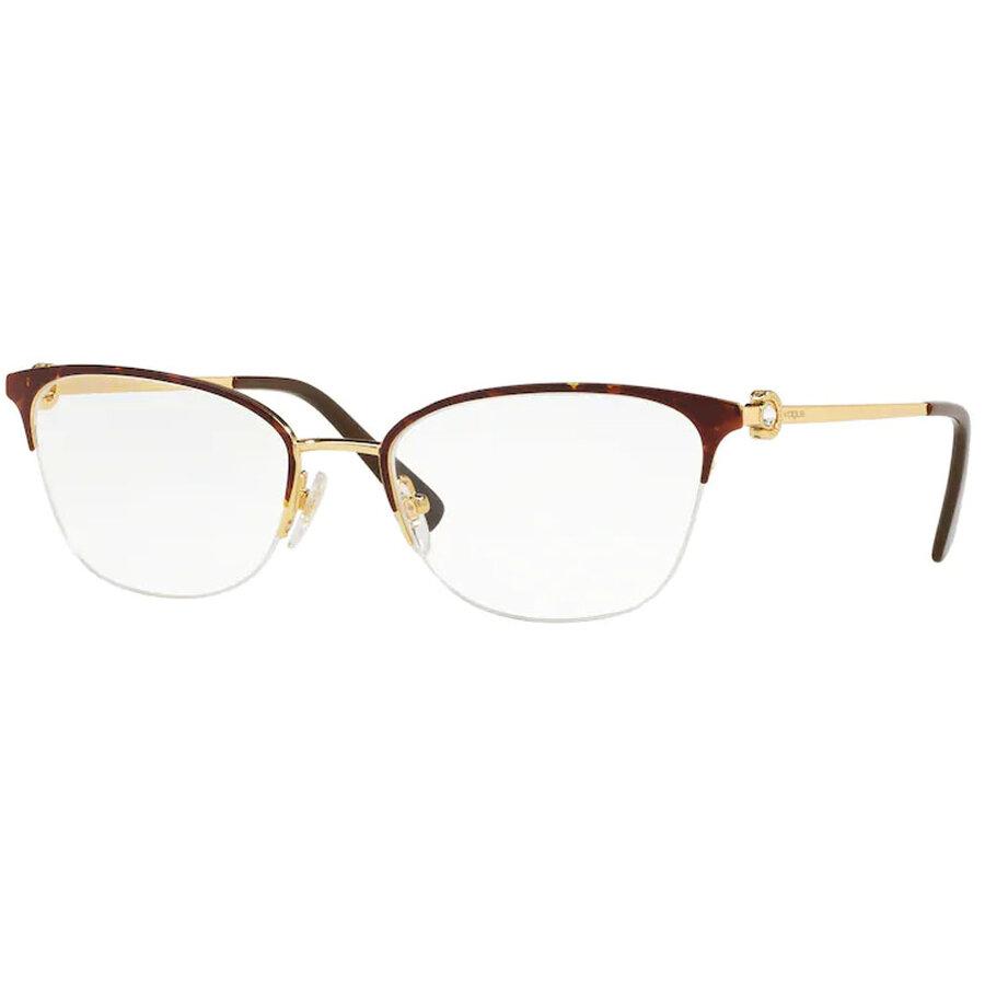 Rame ochelari de vedere dama Vogue VO4095B 5078 Ovale originale cu comanda online