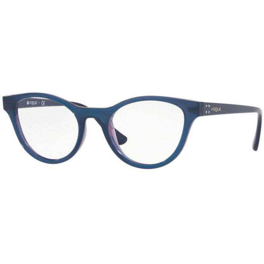 Rame ochelari de vedere dama Vogue VO5274B 2633 Ochi de pisica originale cu comanda online
