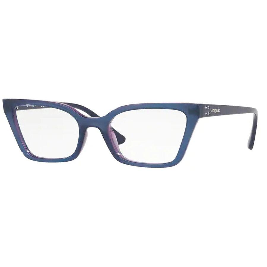 Rame ochelari de vedere dama Vogue VO5275B 2633 Rectangulare originale cu comanda online