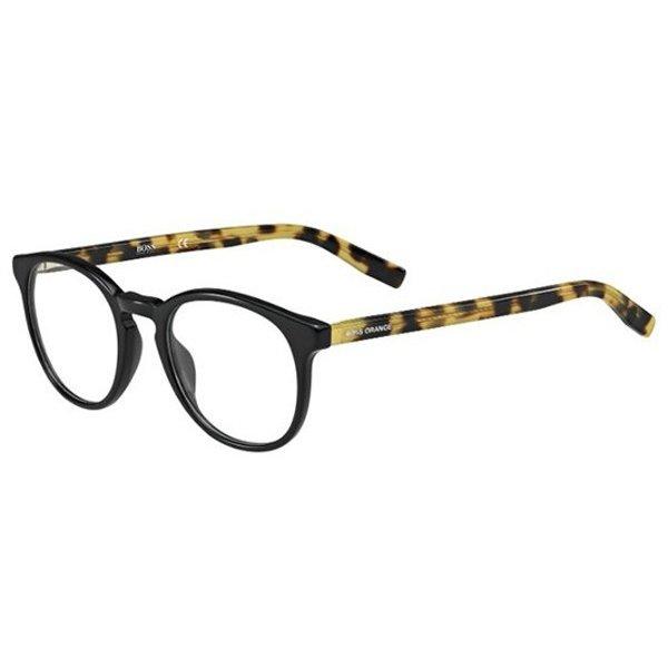 Rame ochelari de vedere unisex BOSS ORANGE BO 0201 YQ5 Ovale originale cu comanda online