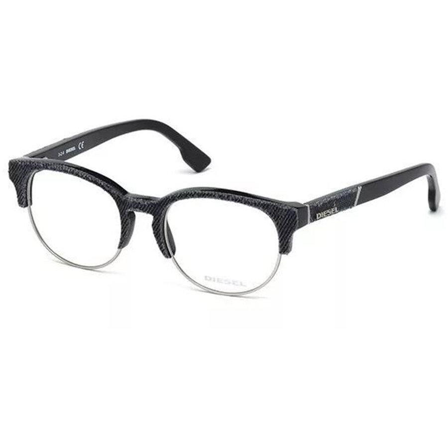 Rame ochelari de vedere unisex DIESEL DL5138 005 Browline originale cu comanda online