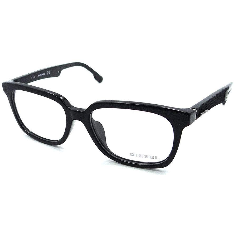 Rame ochelari de vedere unisex DIESEL DL5143-D 001 Rectangulare originale cu comanda online