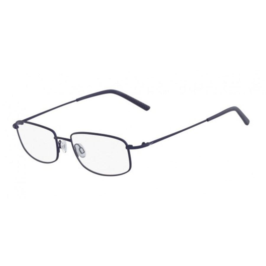 Rame ochelari de vedere unisex NIKE 8180 413 SATIN NAVY Rectangulare originale cu comanda online
