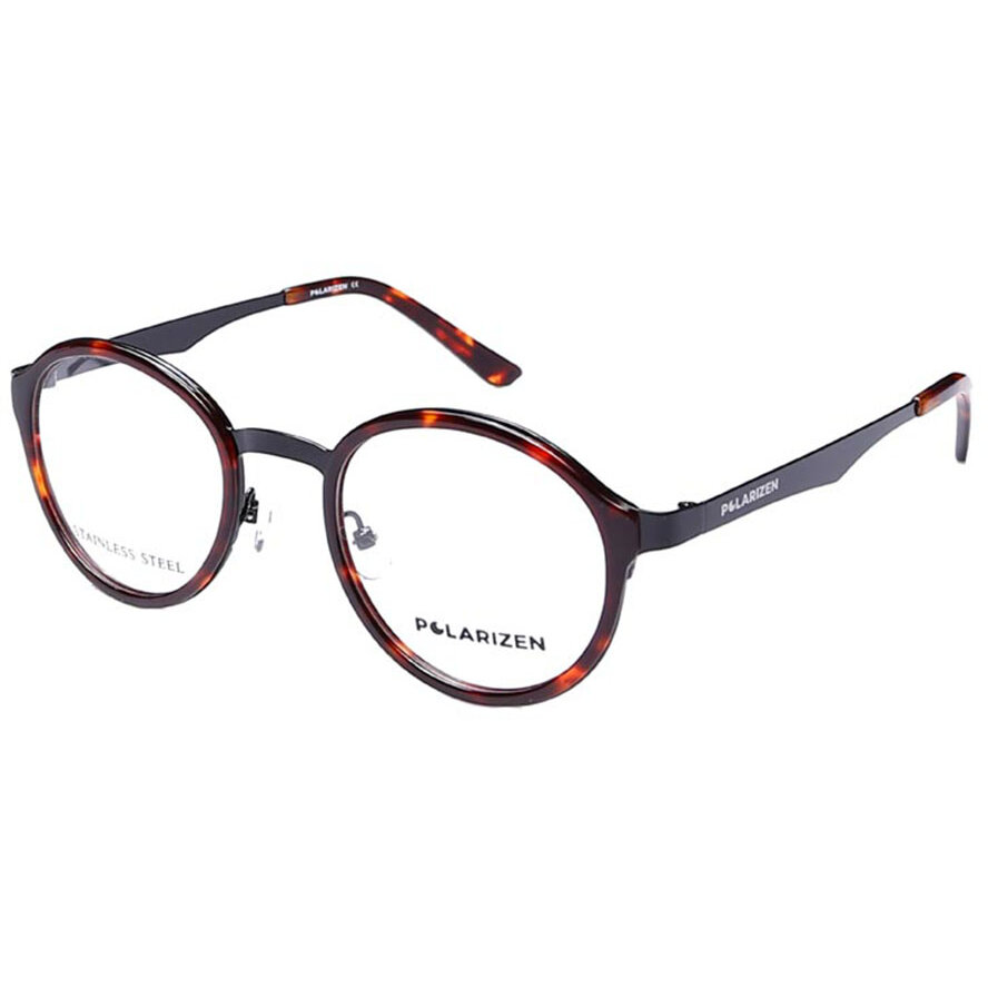 Rame ochelari de vedere unisex Polarizen 1003 C9 Rotunde originale cu comanda online