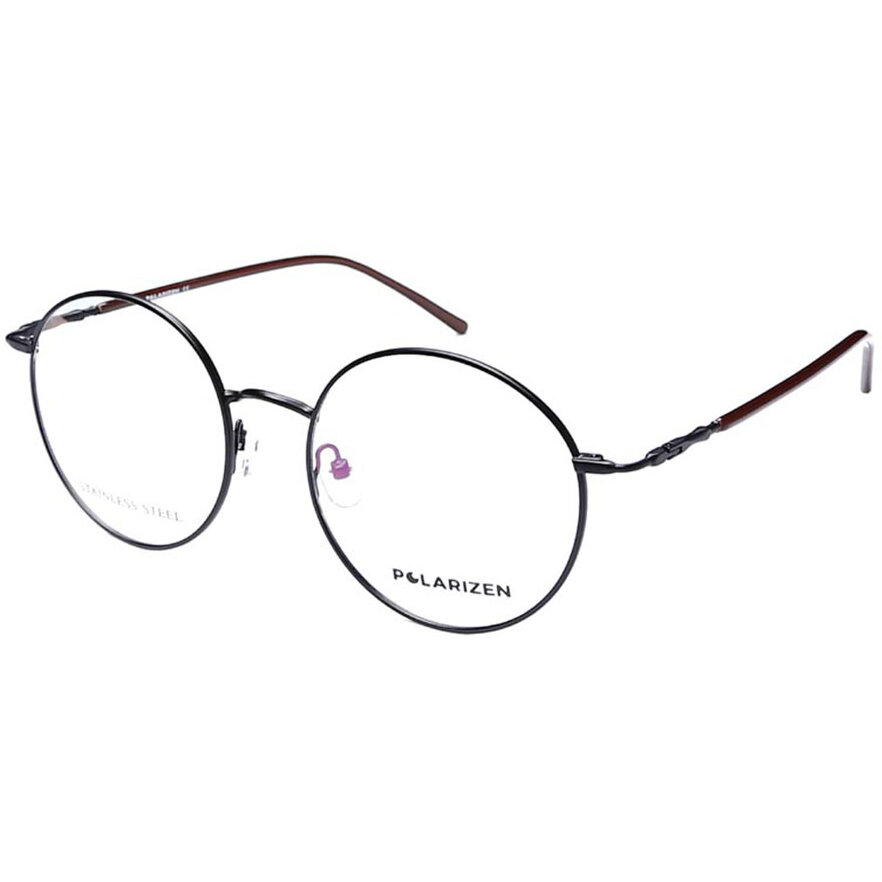 Rame ochelari de vedere unisex Polarizen 3136 C5 Rotunde originale cu comanda online