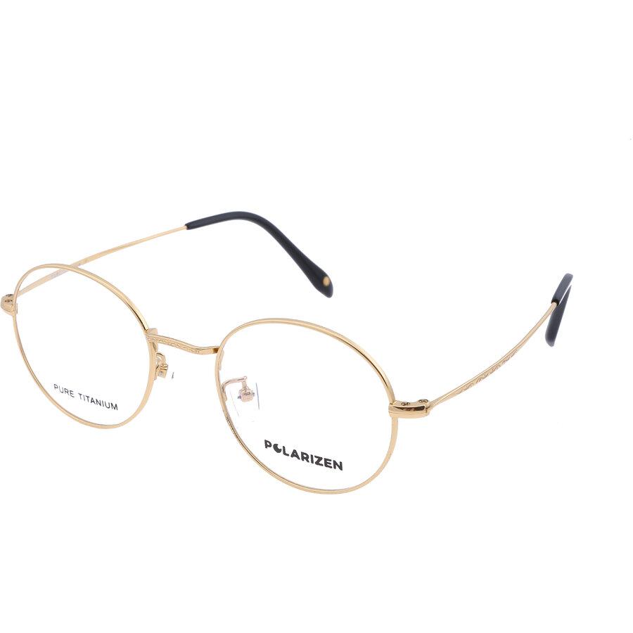 Rame ochelari de vedere unisex Polarizen 8949 C16 Rotunde originale cu comanda online