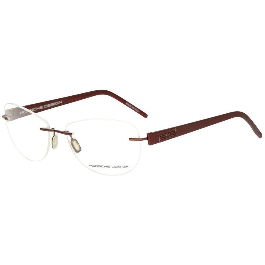 Rame ochelari de vedere unisex Porsche Design P8209 B Rectangulare originale cu comanda online