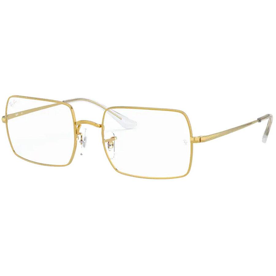 Rame ochelari de vedere unisex Ray-Ban RX1969V 3086 Patrate originale cu comanda online