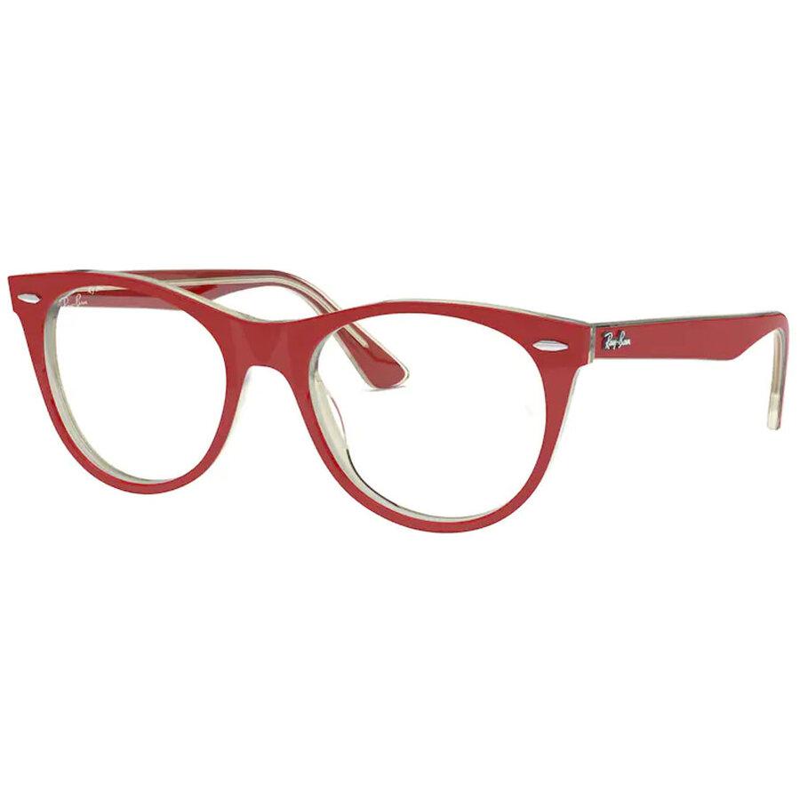 Rame ochelari de vedere unisex Ray-Ban RX2185V 5987 Rotunde originale cu comanda online