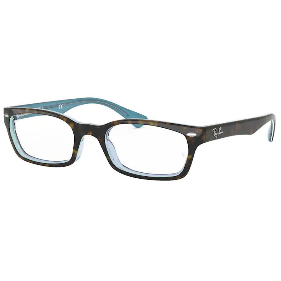Rame ochelari de vedere unisex Ray-Ban RX5150 5023 Rectangulare originale cu comanda online