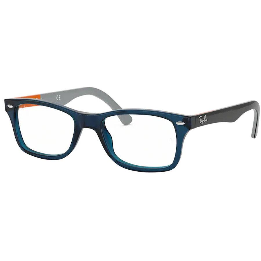 Rame ochelari de vedere unisex Ray-Ban RX5228 5547 Patrate originale cu comanda online