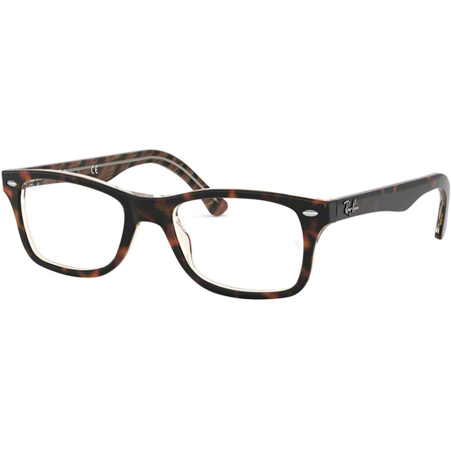 Rame ochelari de vedere unisex Ray-Ban RX5228 5913 Patrate originale cu comanda online