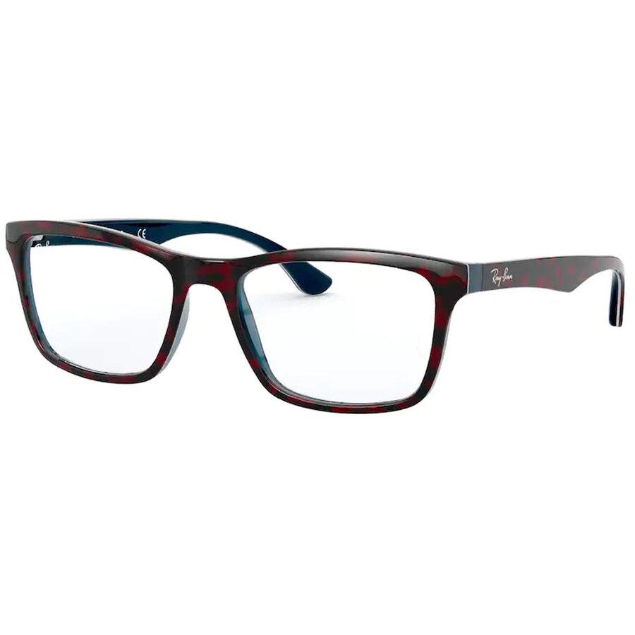 Rame ochelari de vedere unisex Ray-Ban RX5279 5973 Rectangulare originale cu comanda online