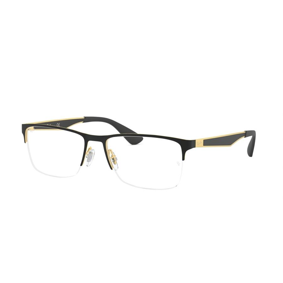 Rame ochelari de vedere unisex Ray-Ban RX6335 2890 Rectangulare originale cu comanda online