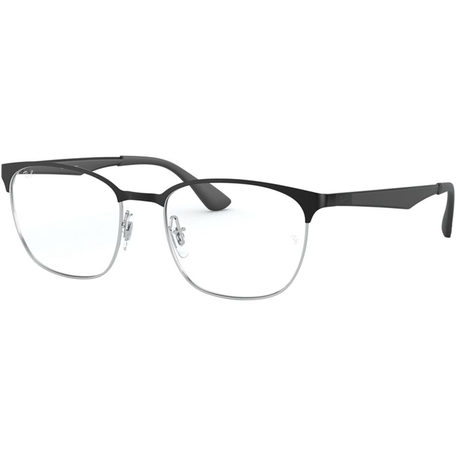 Rame ochelari de vedere unisex Ray-Ban RX6356 2861 Patrate originale cu comanda online