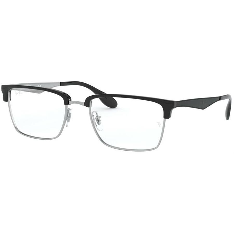 Rame ochelari de vedere unisex Ray-Ban RX6397 2932 Patrate originale cu comanda online