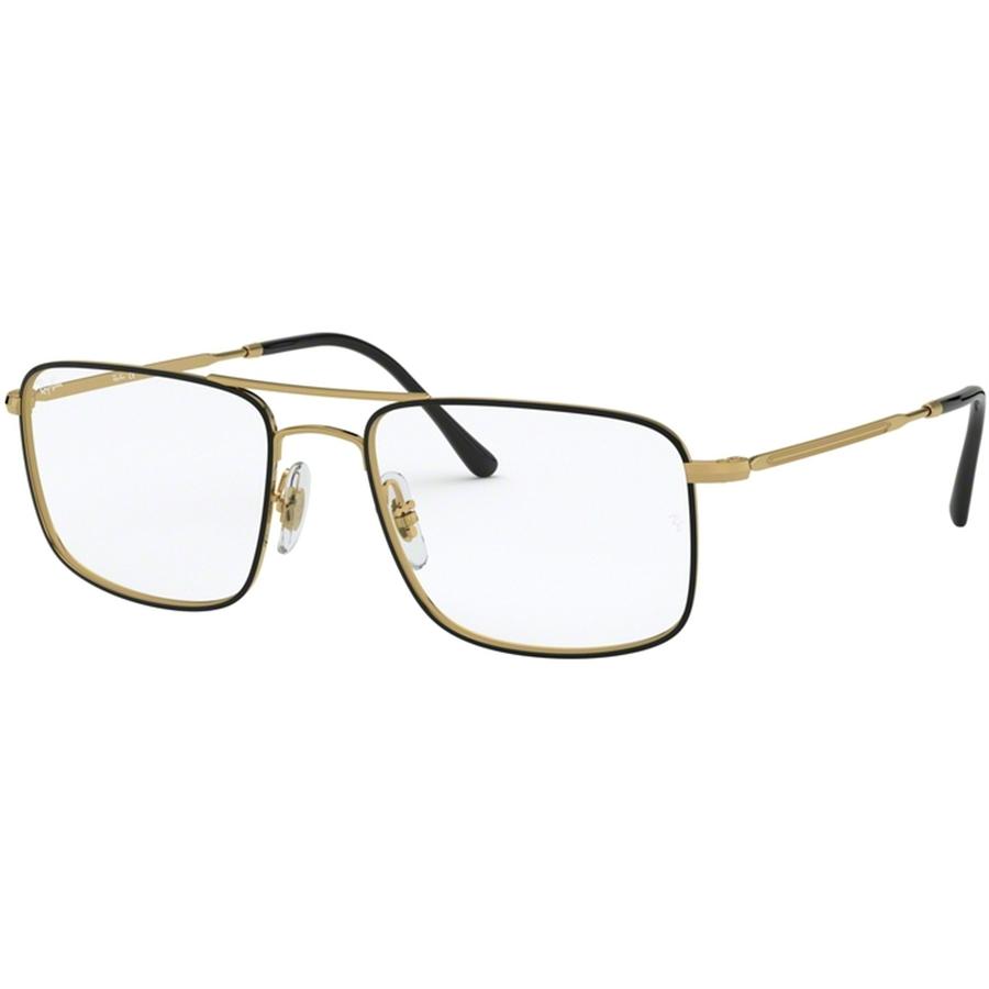 Rame ochelari de vedere unisex Ray-Ban RX6434 2946 Patrate originale cu comanda online