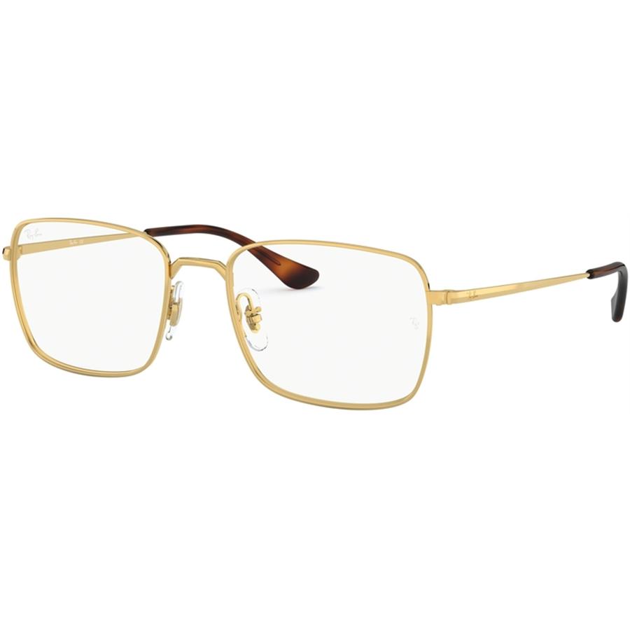 Rame ochelari de vedere unisex Ray-Ban RX6437 3036 Patrate originale cu comanda online