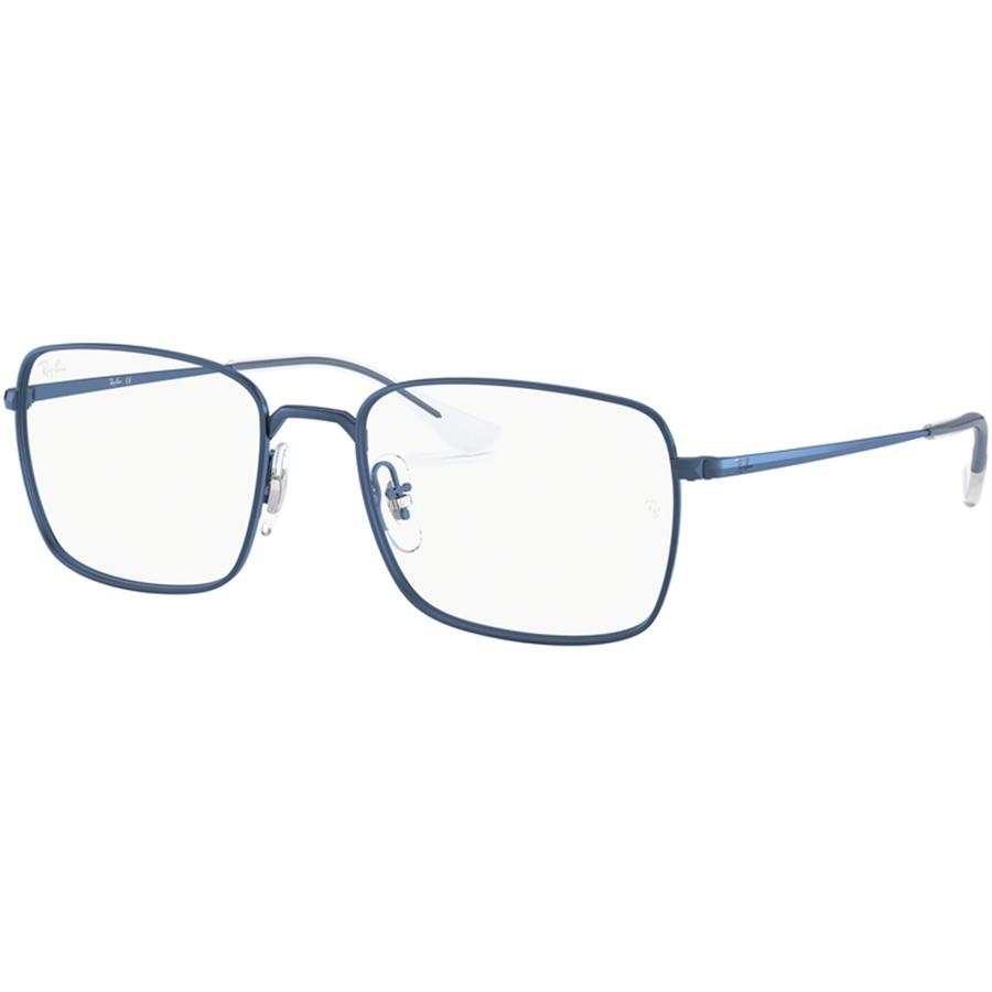 Rame ochelari de vedere unisex Ray-Ban RX6437 3037 Patrate originale cu comanda online