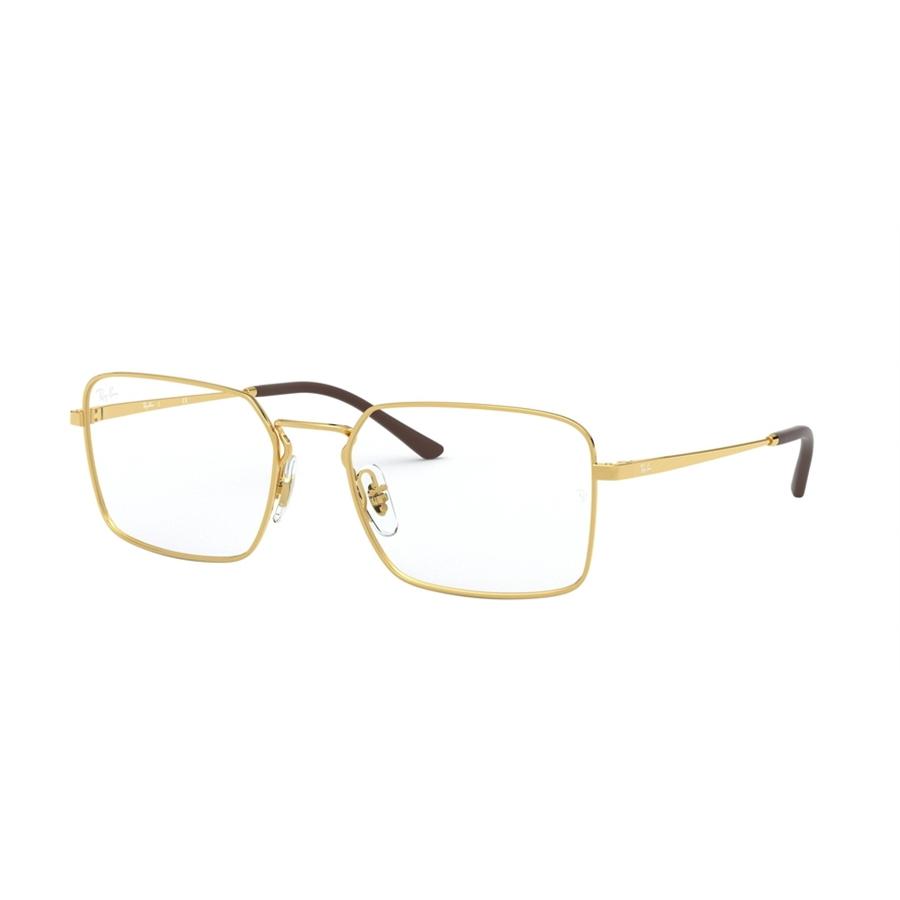 Rame ochelari de vedere unisex Ray-Ban RX6440 2500 Patrate originale cu comanda online