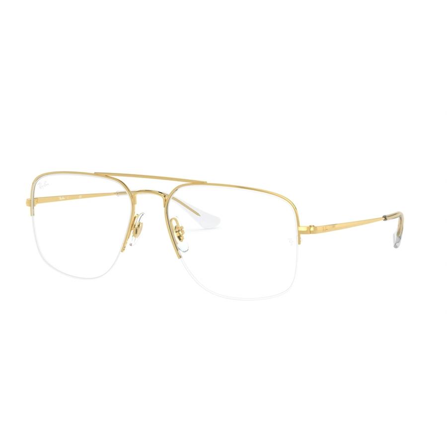 Rame ochelari de vedere unisex Ray-Ban RX6441 2500 Patrate originale cu comanda online