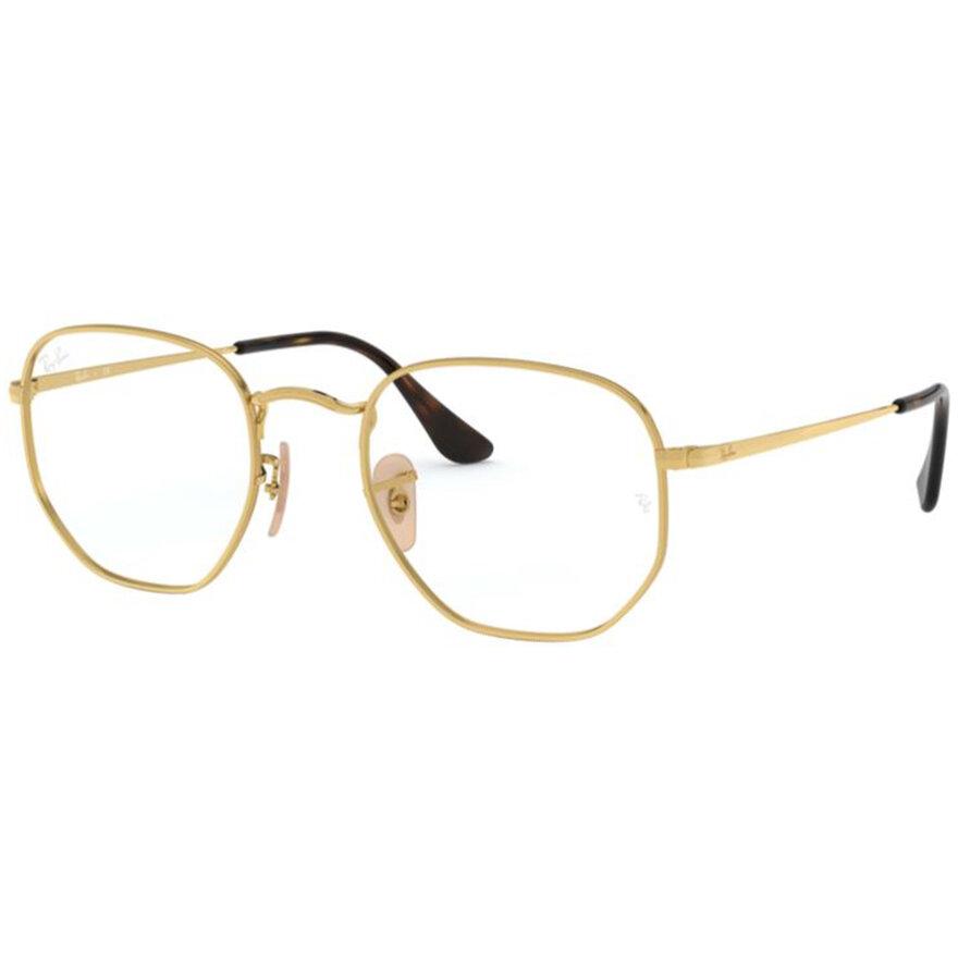 Rame ochelari de vedere unisex Ray-Ban RX6448 2500 Rotunde originale cu comanda online