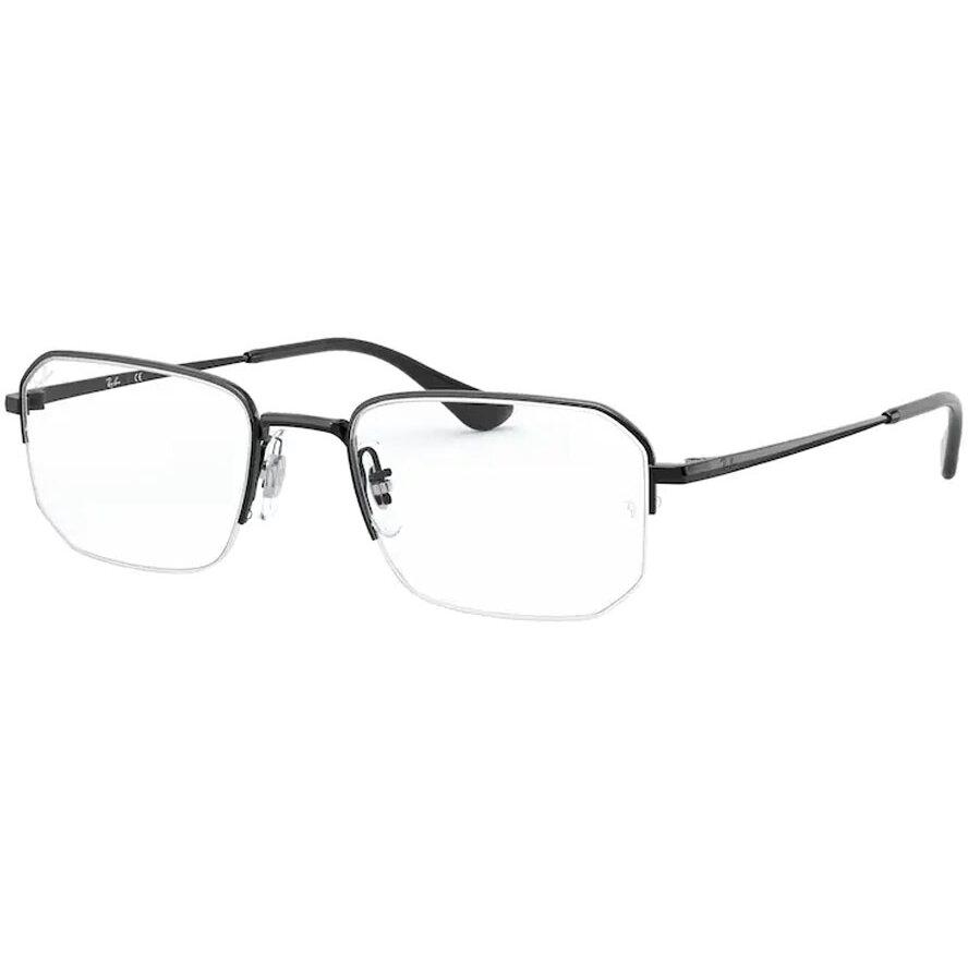 Rame ochelari de vedere unisex Ray-Ban RX6449 2509 Rectangulare originale cu comanda online